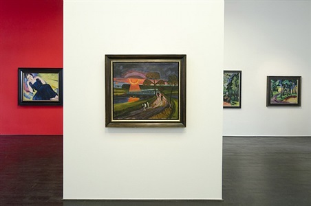 installation view beck & eggeling 2012 by max pechstein