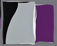 black & gray curves with purple by karl stanley benjamin