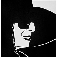 black hat (ada) by alex katz