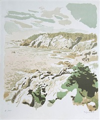 isle au haut by fairfield porter