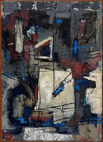 abstract composition by francis bott