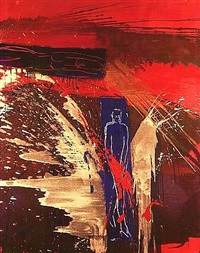 untitled goldsplash by bruce mclean