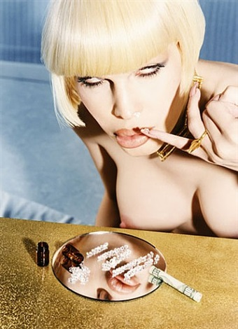 addicted to diamonds (from david lachapelle's consumption) by david lachapelle
