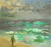 vor rauer see by rainer fetting