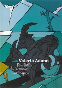 catalogue cover by valerio adami