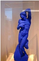 l'esclave de michel angel by yves klein