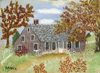 old house © grandma moses properties co., new york by grandma moses