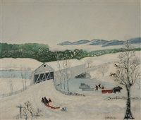 february © grandma moses properties co., new york by grandma moses