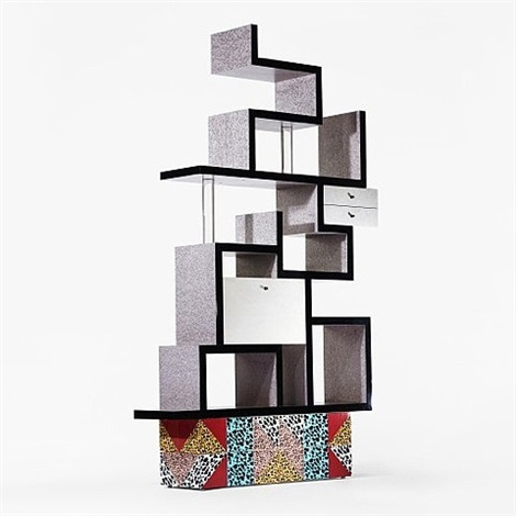 max shelf by ettore sottsass