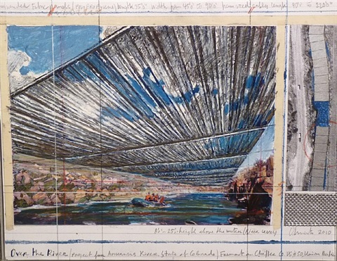 over the river by christo and jeanne-claude