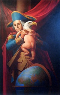 wings will grow (father of the nation) by komar and melamid