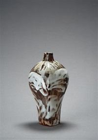 yohen shino vase by ken matsuzaki