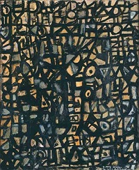 untitled by lee krasner