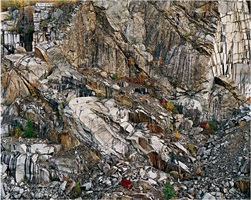 rock of ages #6, abandoned granite quarry, rock of ages quarry, barre, vermont by edward burtynsky
