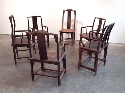 fairytale chairs (d-021 & d-039) by ai weiwei