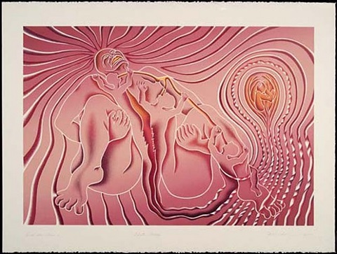 birth tear tear by judy chicago