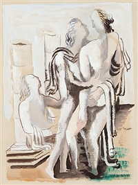 composition classique by ossip zadkine