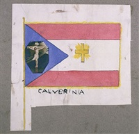 flag of calverinia by henry darger