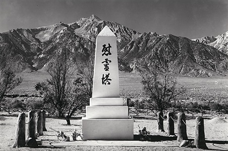 ansel adams the manzanar project by ansel adams