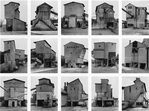 kies und schotterwerke gravel plants by bernd and hilla becher