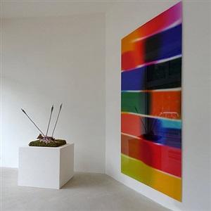 installation view at laleh june galerie basel