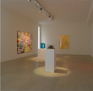 installation view at laleh june galerie basel