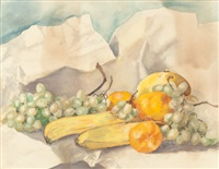 still life with fruit by edward grenet