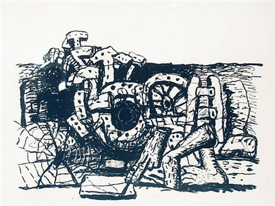 highlights 2012 by philip guston