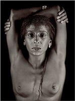 untitled (renee) by chuck close