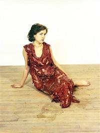 vanitas: flesh dress for an albino anorectic by jana sterbak