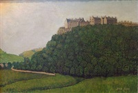 balmoral castle (large version) by john kane