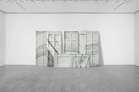 marble doors by ai weiwei