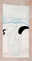 glass and mountains 2 by ben nicholson