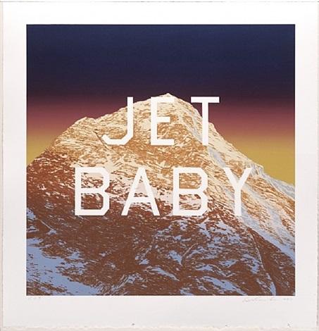 jet baby by ed ruscha