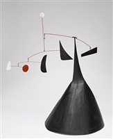 untitled (demi-cône) by alexander calder