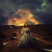 waiting to fly by brooke shaden