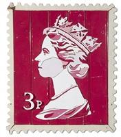 3p queen stamp by diederick kraaijeveld