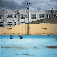 fisher pool, queens by charles johnstone