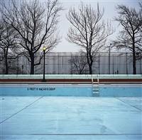highbridge park pool, manhattan by charles johnstone