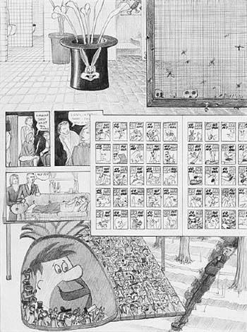 "dream drawing – ""i was in a videogame…"" by jim shaw"