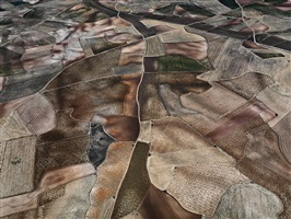 dryland farming #31, monegros county, aragon, spain, 2010 by edward burtynsky