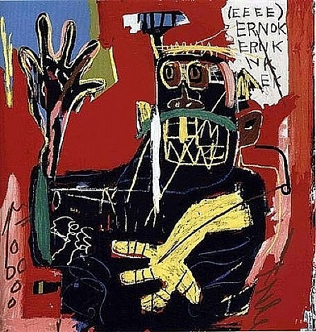 untitled ernok by jean-michel basquiat