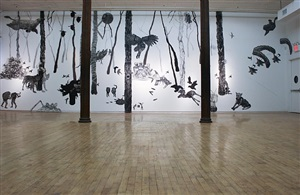 installation view by aliene de souza howell