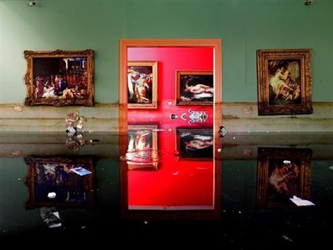 museum flood by david lachapelle