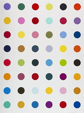 hydroxylysine by damien hirst