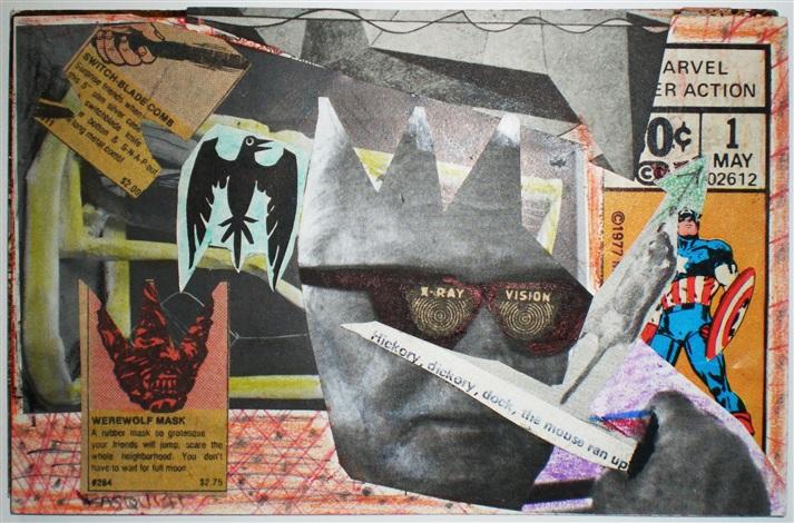 samo x ray vision postcard by jean michel basquiat