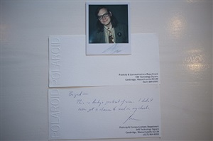 polaroid portrait of jim andrews by andy warhol