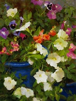 summer blooms (sold) by kathy anderson