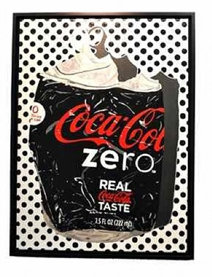 coca cola zero dots by claude charlier