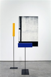 'composition with red, black, blue and yellow' in time and space by melissa gordon